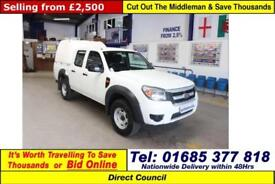 2011 - 61 - FORD RANGER 2.5TDCI 4X4 EURO42 DOUBLE CAB PICK UP C/W TRUCKMAN TOP