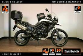 TRIUMPH TIGER 800 XC ABS 2013 63 - PART SERVICE HISTORY - 3 STAMPS