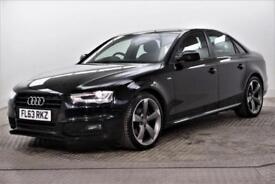 2013 Audi A4 TDI S LINE BLACK EDITION Diesel black Manual