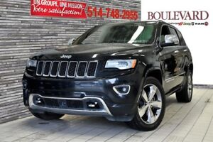 Jeep Grand Cherokee Overland ECO DIESEL TOIT PANORAMIQUE 2014