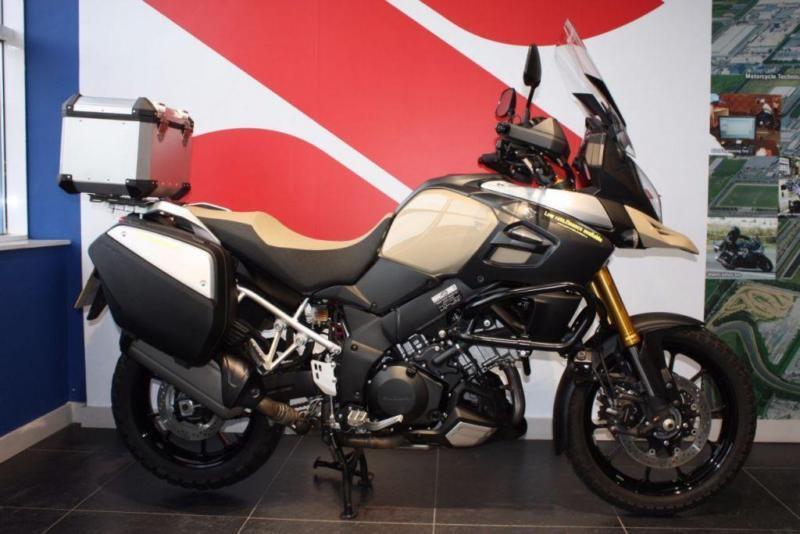 2015 65 Suzuki Dl 1000 V Strom Beige Desert Edition Only