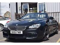 2011 61 BMW 6 SERIES 4.4 650I M SPORT 2D AUTO 403 BHP
