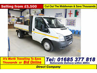 2011 - 61 - FORD TRANSIT T350 2.4TDCI 115PS TIPPER (GUIDE PRICE)
