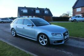 2010 Audi A4 1.8T FSI 160 S Line 5dr Multitronic,HALF LEATHER,NEW MOT ESTATE Pet