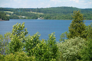 Waterfront lot in Erb's Cove overlooking beautiful Bellisle Bay!