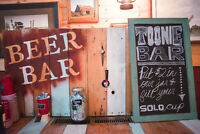 Self serve Palate Beer Bar