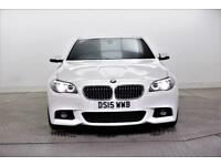 2015 BMW 5 Series 535D M SPORT Diesel white Automatic