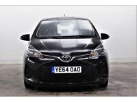 2014 Toyota Yaris VVT-I ACTIVE Petrol black Manual