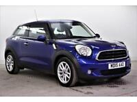 2015 MINI Paceman COOPER D Diesel blue Manual