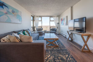All Inclusive Furnished Executive Condo With Water Views