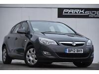 2012 Vauxhall Astra 1.7 CDTi ecoFLEX 16v Exclusiv 5dr (start/stop)
