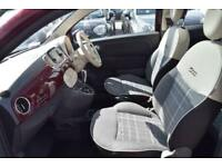 2015 Fiat 500 1.2 Lounge Dualogic (s/s) 3dr Petrol Automatic