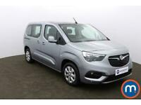 2019 Vauxhall COMBO LIFE 1.5 Turbo D 130 Energy 5dr Auto People Carrier Diesel A