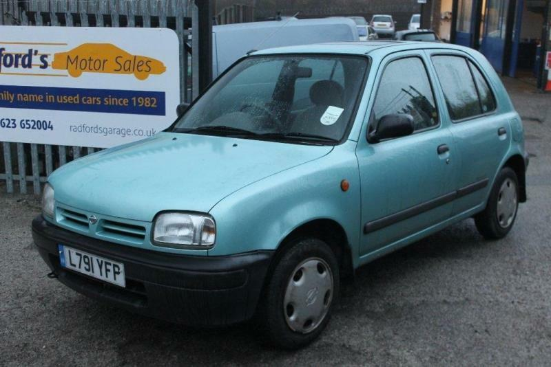 1993 Nissan Micra 1 0 Lx 5dr In Mansfield