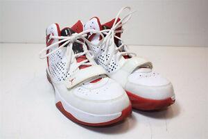 NIKE Air Jordan Men's Size 9.5 / RED / Pre-Owned