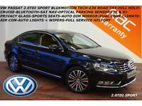 2012 Volkswagen Passat 2.0TDI (140ps) BlueMotion Tech Sport-SAT NAV-B.TOOTH-FSH