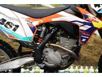 2012 KTM SXF 250 MOTOCROSS BIKE ELECTRIC START, EFI (FUEL INJECTION)