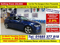 2013 - 13 - AUDI A3 SPORT 2.0TDI 3 DOOR HATCHBACK (GUIDE PRICE)