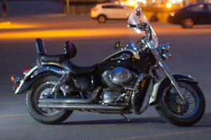 2001 Honda Shadow 750cc with accessories