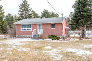 Perfect Starter Or Retirement Home Brick Bungalow Country Lot