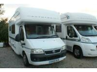 2005 Auto Trail Apache 640 SE - Fiat Ducato 2.8 JTD - Superb Condition - 29k