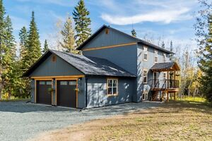 Brand New Build,  5 acres CLOSE to Town Prince George British Columbia image 1