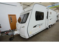2011 Lunar Delta Ti 4 Berth Touring Caravan with Fixed Island Bed