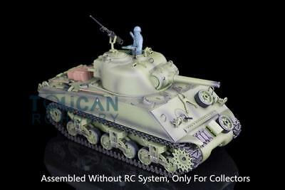 Henglong 1/16 Model Plastic USA M4A3 Sherman Static Tank 3898 W/O Main Board