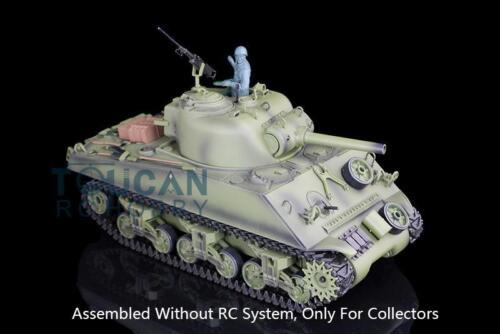 Henglong 1/16 Model USA M4A3 Sherman Static Tank 3898 W/O RC