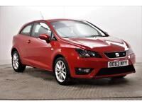 2014 SEAT Ibiza TSI FR Petrol red Manual