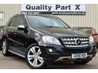 2010 Mercedes-Benz M Class 3.0 ML300 CDI BlueEFFICIENCY Sport 5dr