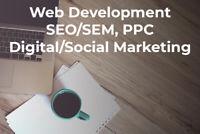 Websites, SEO, PPC and Social Marketing