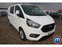 2020 Ford Transit Custom 2.0 EcoBlue 130ps Low Roof D-Cab Limited Van Crew Bus D