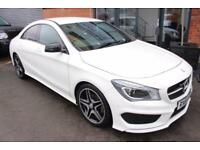 Mercedes CLA180 AMG SPORT-LOW MILEAGE-CRUISE CONTROL-HALF LEATHER