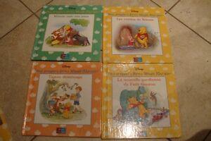 13 livres enfants  (mes premiers livres Winnie l'ourson) Disney
