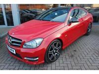 Mercedes C250 CDI BLUEEFFICIENCY AMG SPORT PLUS. VAT QUALIFYING
