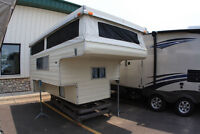 looking for a truck camper setup. pop up style?