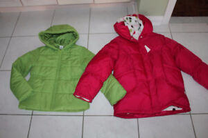 GIRLS WINTER FALL SPRING COAT 3 IN 1 SIZE 9 10 * NEW * CLOTHING