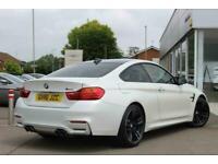 2016 BMW M4 Coupe - Satin White Factory Paint Semi Auto Coupe Petrol Automatic