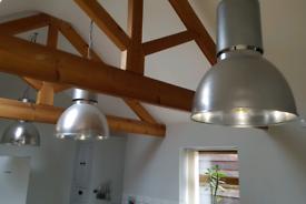 3 Large Light Fittings