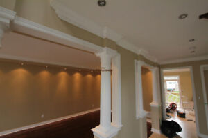 CROWN MOULDING FOR ALL ROOMS IN THE HOME