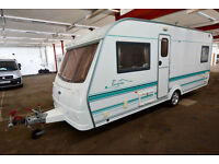 2002 Coachman Pastiche 530/4 Fixed Bed Touring Caravan