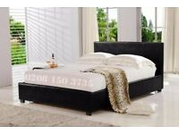 🌷💚🌷MODERN DESIGN🌷💚🌷FAUX LEATHER BED FRAME IN SINGLE,SMALL DOUBLE,DOUBLE & KING SIZE