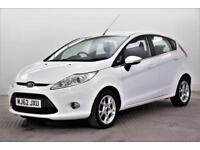 2012 Ford Fiesta ZETEC Petrol white Manual