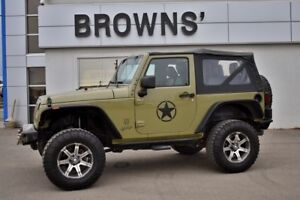 2013 Jeep Wrangler Sport - W/Removable Top, Aftermarket Bumper &