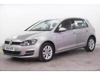 2014 Volkswagen Golf SE TDI BLUEMOTION TECHNOLOGY DSG Diesel silver Semi Auto