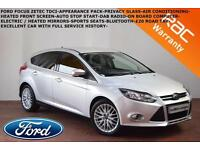 2013 Ford Focus 1.6TDCi(115ps) Zetec-BLUETOOTH-APPEARANCE PACK-DAB-PRIVACY GLASS