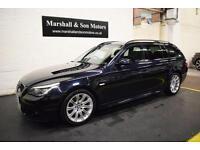 2008 08 BMW 5 SERIES 3.0 530D M SPORT TOURING 5D AUTO 232 BHP DIESEL