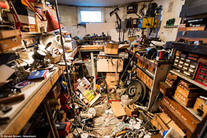 FREE Removal Clean Out OLD CAR BOAT BIKE Garage Mess