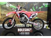 2017 HONDA CRF 450 MOTOCROSS BIKE ELECTRIC START, VERY LOW HOURS